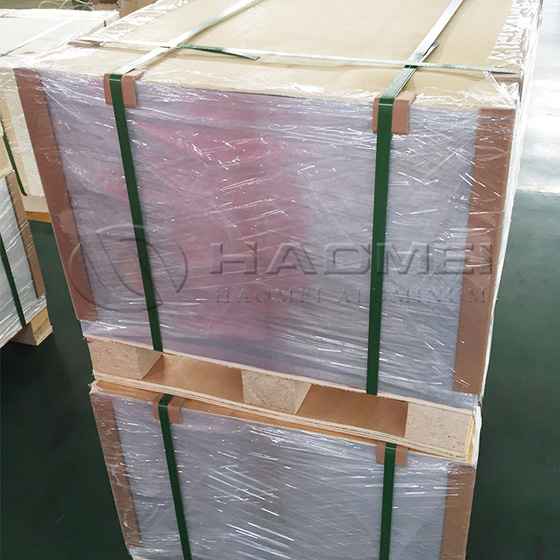 What is the basic steps for produce aluminum plates