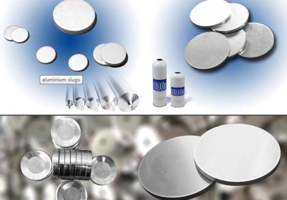 Aluminum slug for pharmaceutical tube /bottle cans