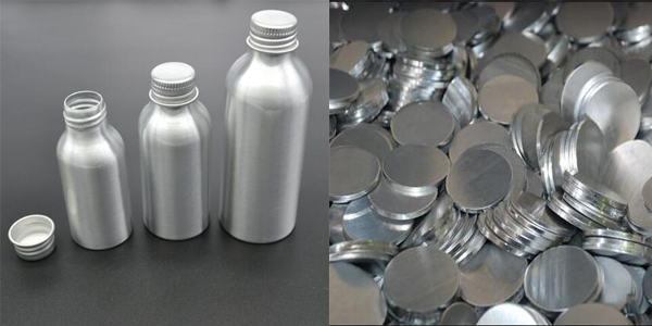 High purity plat round aluminum slug for aluminum bottle